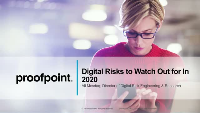 Digital Risks to Watch Out for In 2020
