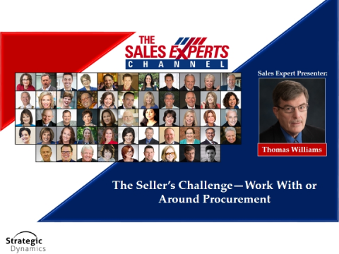 The Seller's Challenge—Work with or Around Procurement!