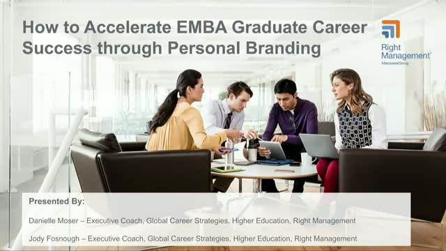 How to Accelerate EMBA Graduate Career Success through Personal Branding
