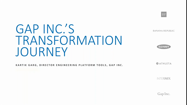 Gap Inc.'s Digital Transformation Journey