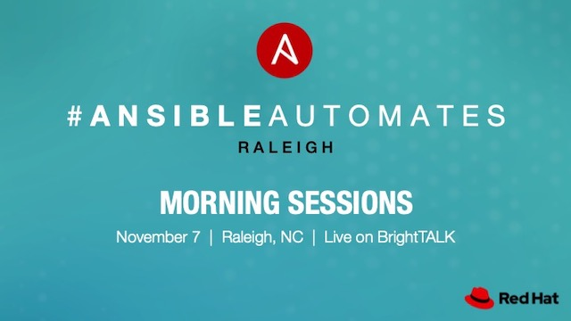 Ansible Automates - Morning Sessions