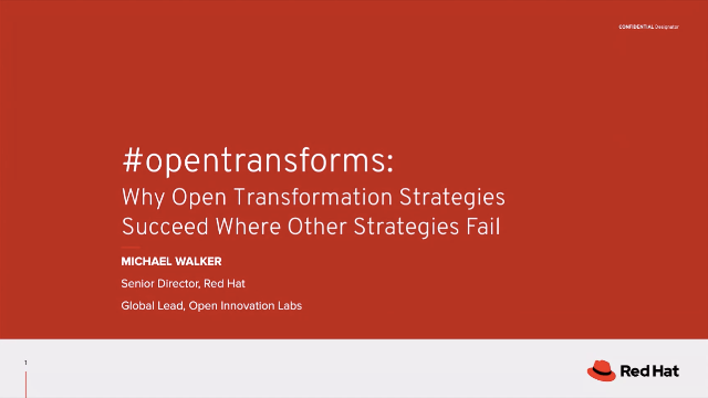 #opentransforms: Why Open Transformation Strategies Succeed Where Others Fail