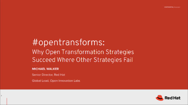 Why Open Transformation Strategies Succeed Where Others Fail