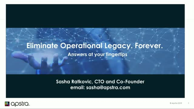 Eliminate Data Center Network Operational Legacy. Forever!