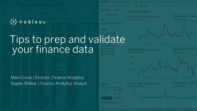 Tips to prep and validate your finance data
