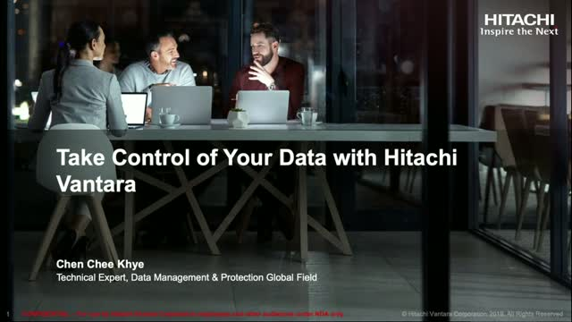 How Hitachi Vantara Helps Take Control of Your Data