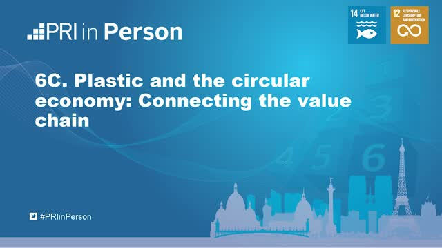 PIP19 - Plastic and the circular economy: Connecting the value chain