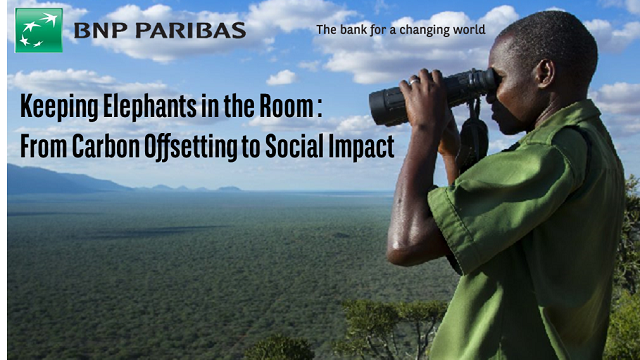 Keeping Elephants in the Room : From Carbon Offsetting to Social Impact