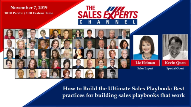 How to Build the Ultimate Sales Playbook w/Kevin Quan, CEO, CloseQuickly