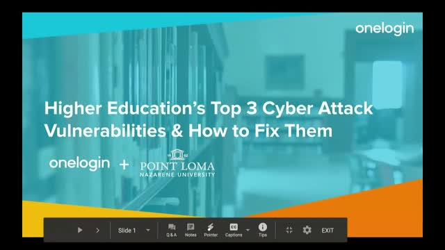 Higher Education's Top 3 Cyber Attack Vulnerabilities and How to Fix Them