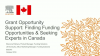 Grant Opportunity Support: Finding Opportunities & Experts (Canada)