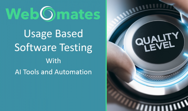 Usage Based Software Testing  With  AI Tools and Automation