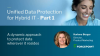 EMEA: Unified Data Protection for Hybrid IT - Part 1