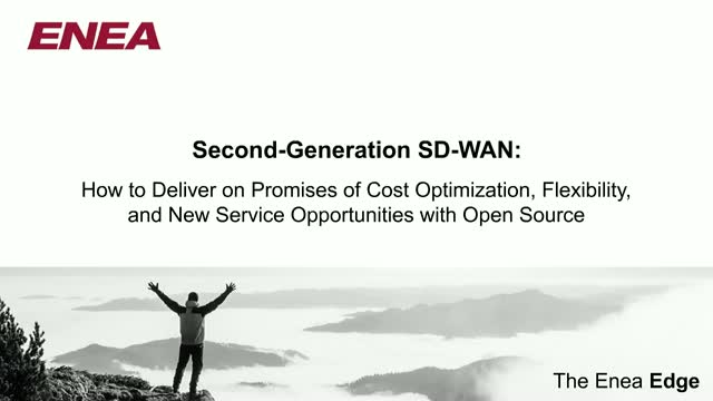 Second-Generation SD-WAN