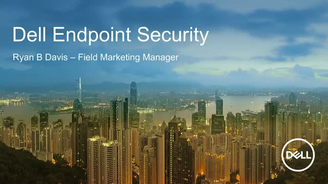 Dell Endpoint Security: Trusted Devices and Trusted Data