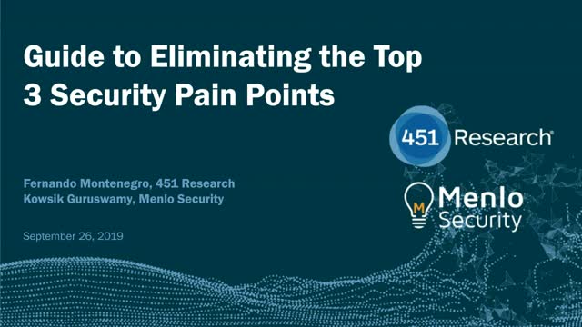 [APAC] Guide to Eliminating the Top 3 Security Pain Points