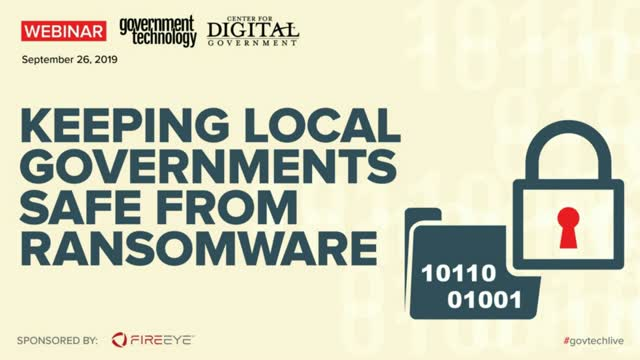 Ransomware Cripples Local Governments:  Prepare and Respond