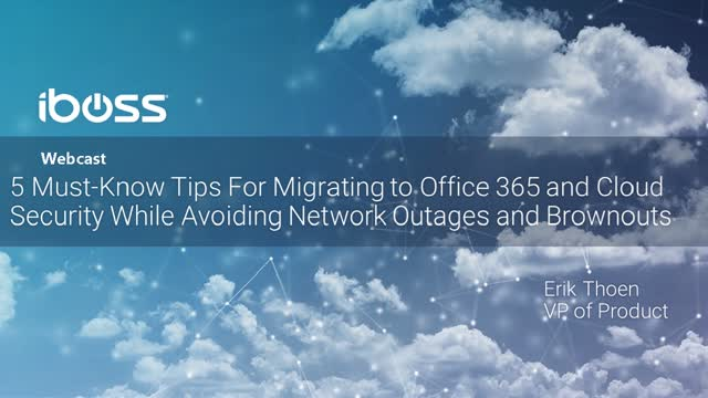 5 Must Know Tips for Migrating to Office 365 and Cloud Security