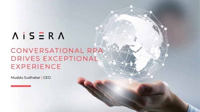 Conversational RPA Drives Exceptional Experience