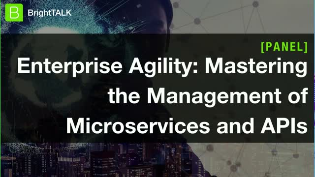 [Panel] Enterprise Agility: Mastering the Management of Microservices and APIs