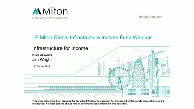 Miton Global Infrastructure Income Fund webinar