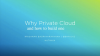 How to Build your Private Cloud with Hyperconverged Infrastructure