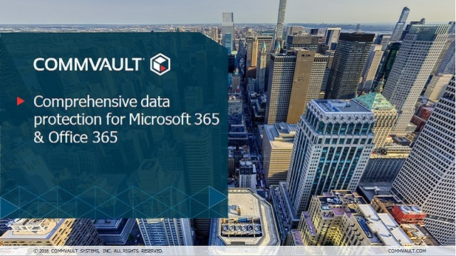 Comprehensive data protection for Microsoft 365 & Office 365