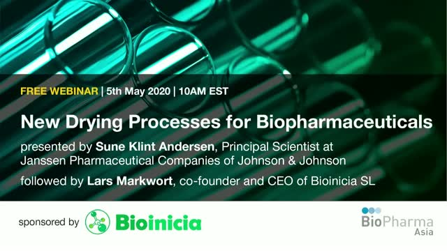 New Drying Processes for Biopharmaceuticals