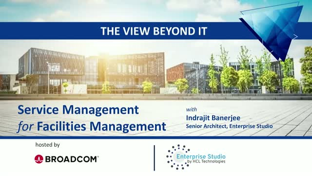 ITSM IN NON-IT USE: A ZOOM INTO FACILITIES MANAGEMENT