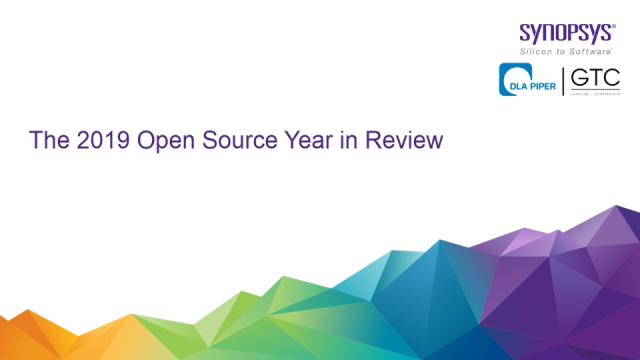 The 2019 Open Source Year in Review