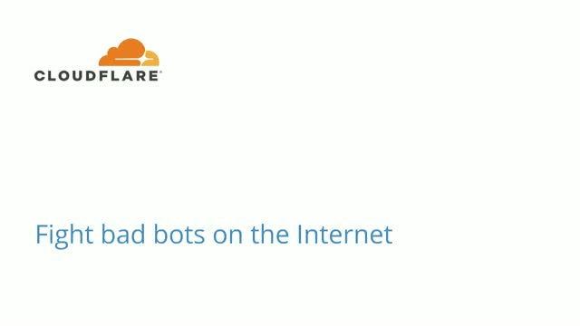 Fight bad bots on the Internet