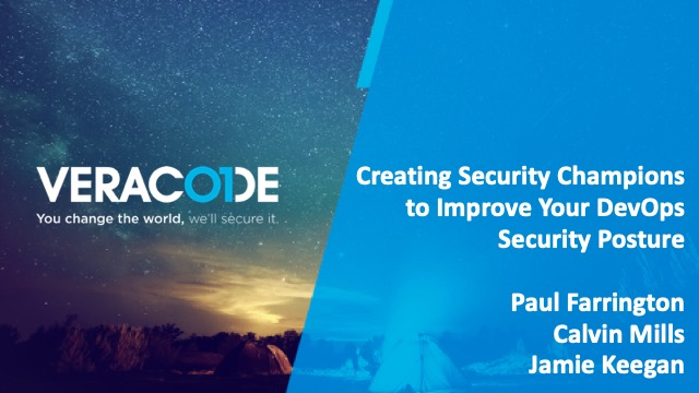 Creating Security Champions to Improve Your DevOps Security Posture