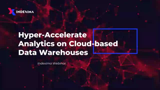 Hyper-Accelerate Analytics On Cloud-Based Data Warehouses