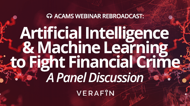 Artificial Intelligence and Machine Learning to Fight Financial Crime