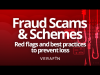 Fraud Scams: Red Flags & Best Practices to Prevent Loss