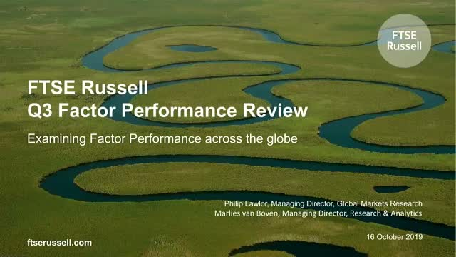 The FTSE Russell Q3 Factor Performance Review