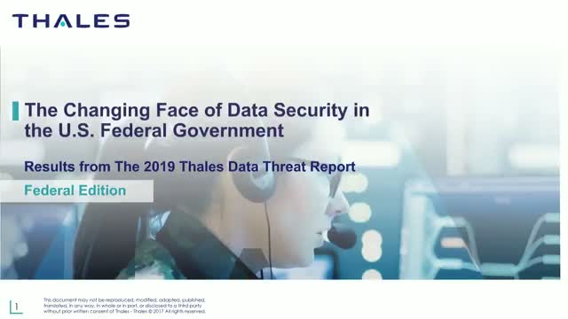 The Changing Landscape of Data Security for U.S. Federal Agencies