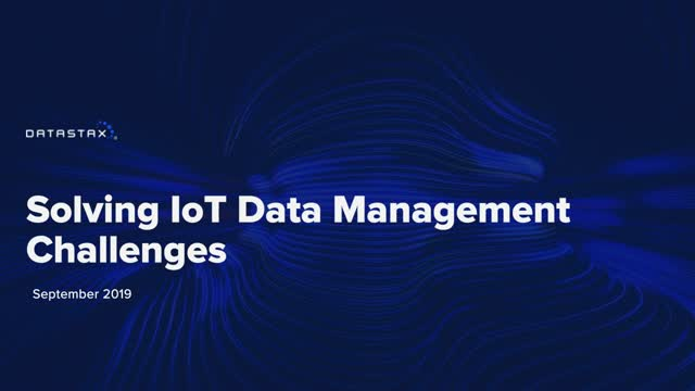 Solving IoT Data Management Challenges