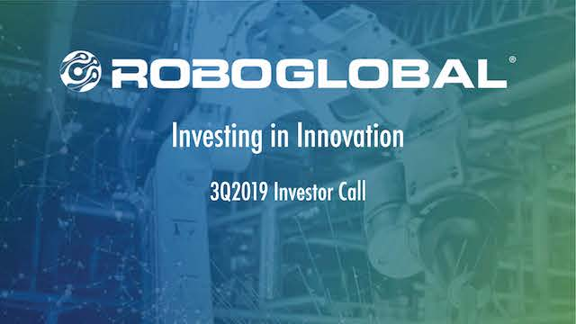 ROBO Global Q3 Investor Call