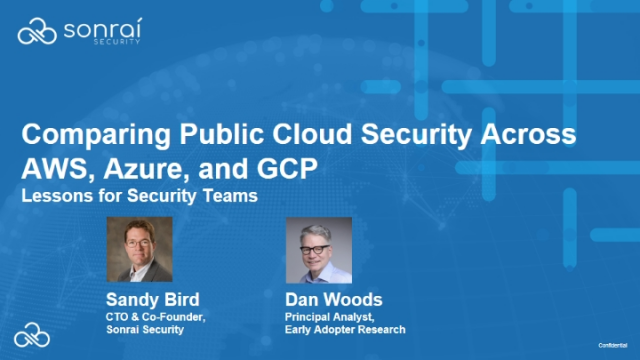 Comparing Public Cloud Security Across AWS, Azure, and GCP: Lessons for Security