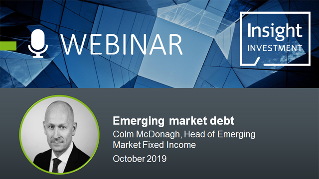 Emerging Market Review and Outlook | October 2019
