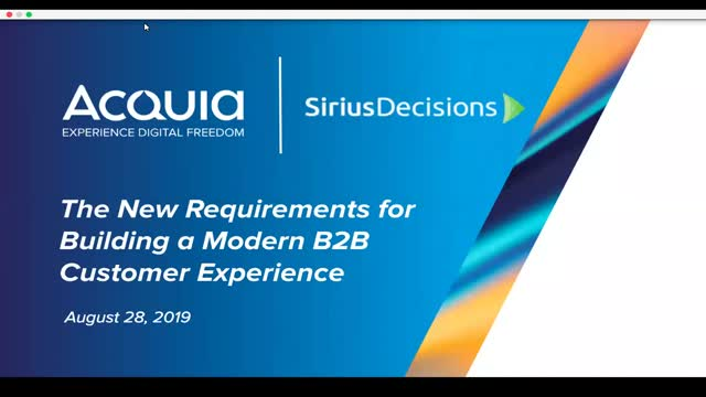 S1, E2: New Requirements for Building a Modern B2B Customer Experience