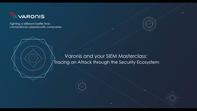 Varonis + SIEM Masterclass: Tracing an Attack Through Your Security Stack