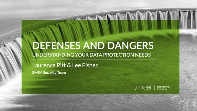Defenses and Dangers: Understanding Your Data Protection Needs