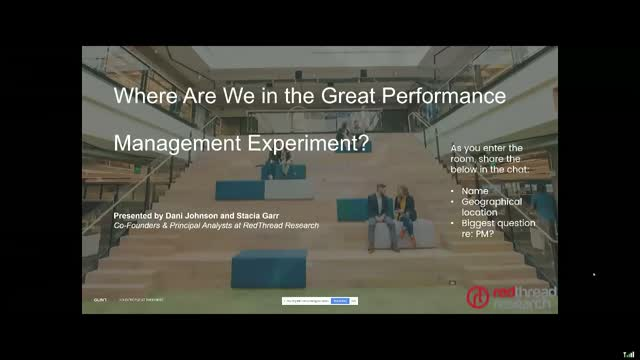Where Are We in the Great Performance Management Experiment?
