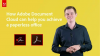 How Adobe Document Cloud can help you achieve a paperless office