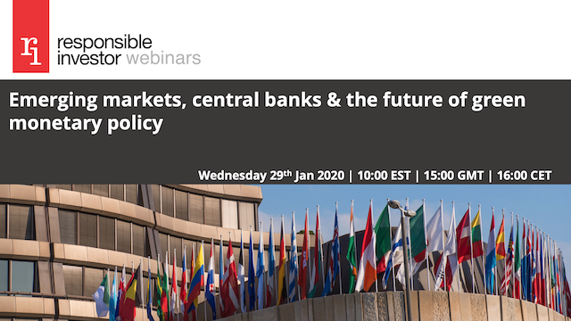 Emerging markets, central banks & the future of green monetary policy