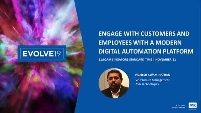 Engage with Customers and Employees with a Modern Digital Automation Platform