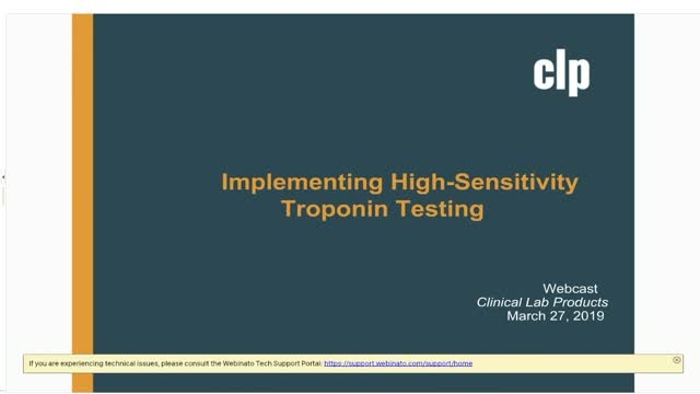 Implementing High-sensitivity Troponin Testing