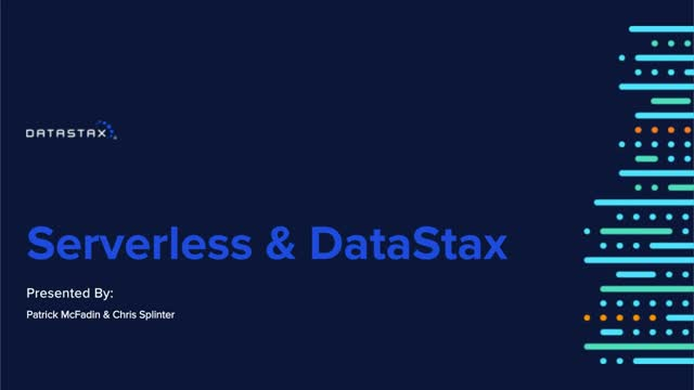 Serverless Functions with Datastax Drivers
